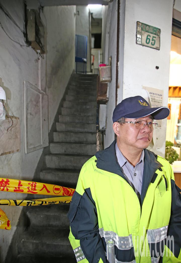 新北市中和區興南路二號段659死2傷現場。記者杜建重/攝影