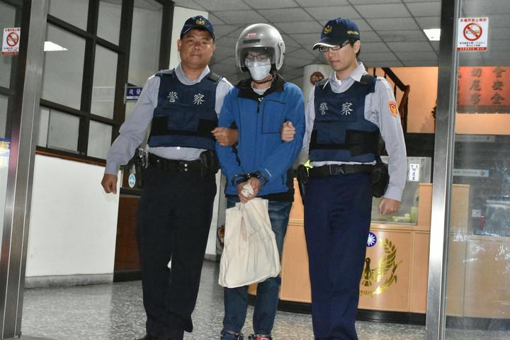 女大生遭攻擊案,警方逮捕涉案焦姓男子。記者謝恩得/翻攝