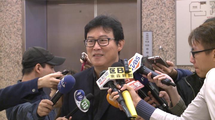 對於蔣萬安表態不參選台北市長,民進黨立委姚文智表示:「有點悵然若失」。記者 林洧旭/攝影