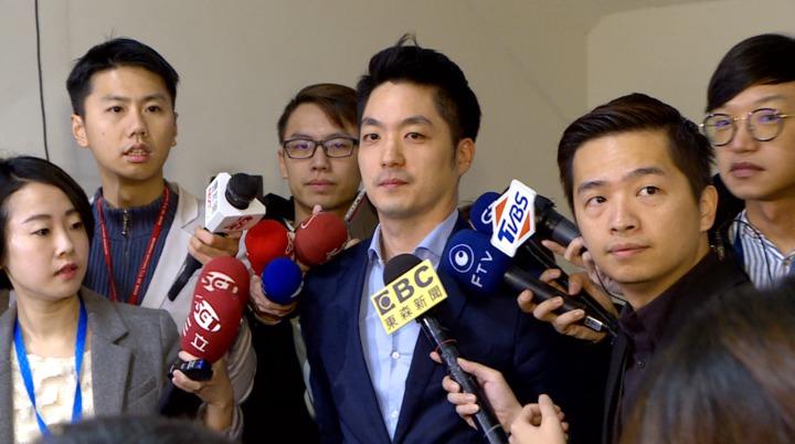 國民黨立委蔣萬安宣布,不會參加2018年台北市長選舉,他將繼續留在立法院監督執政黨。記者 林洧旭/攝影
