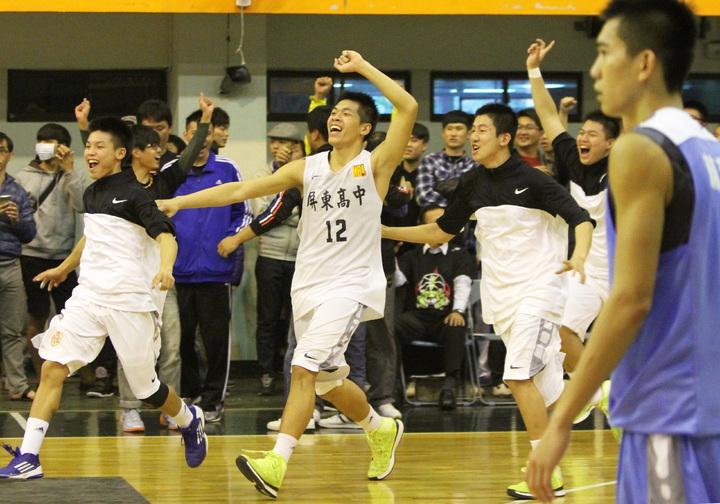 屏中五虎配置及球風,十分類似漫畫「灌籃高手」的湘北隊,屢次創下驚奇,一路闖進冠軍賽。