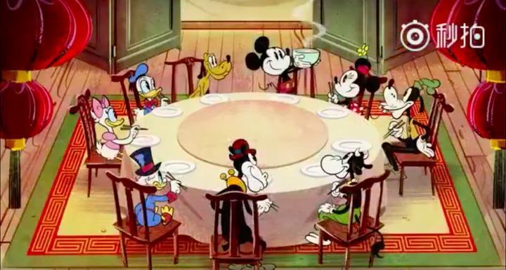 迪士尼為中國製拜年短片 網友卻歪樓:維尼呢?圖/翻攝自秒拍