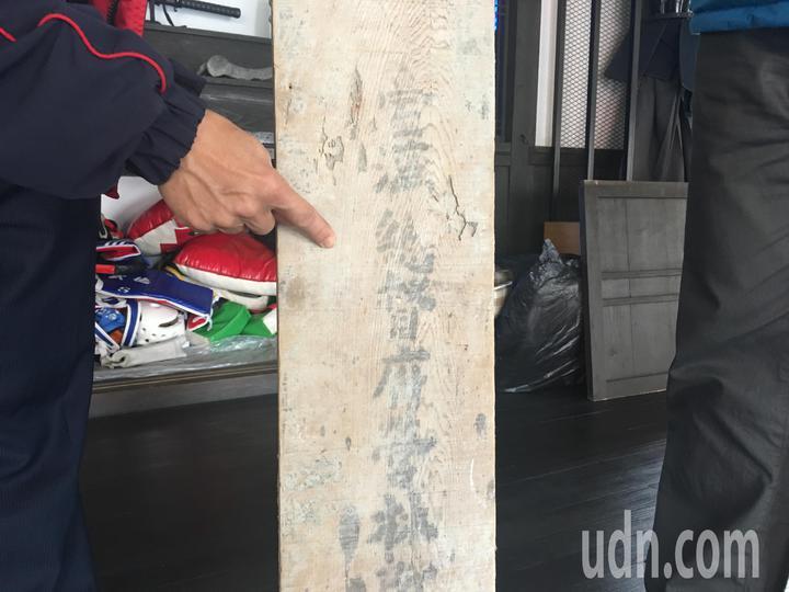 檜木地板出自台灣總督府營林所。記者吳淑玲/攝影
