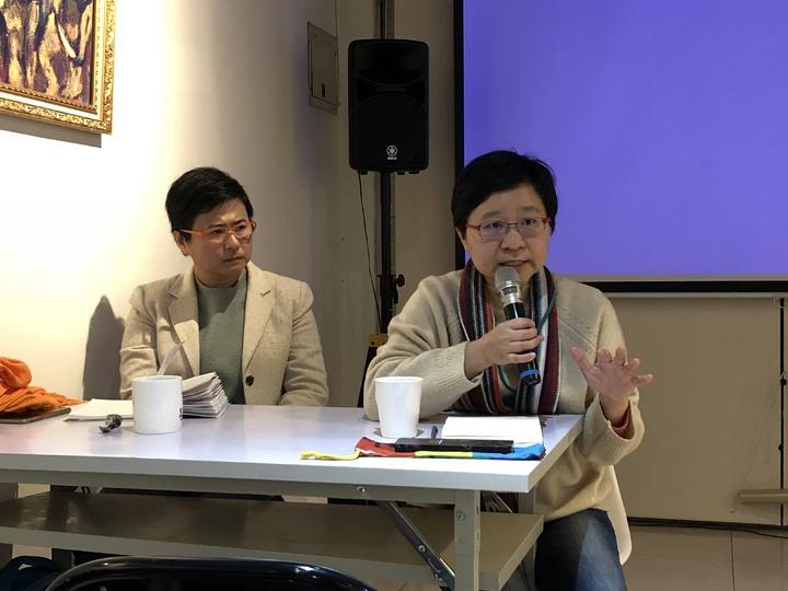 伴侶盟秘書長簡至潔認為法律建構社會生活,應保障同志基本人權。記者林敬家/攝影