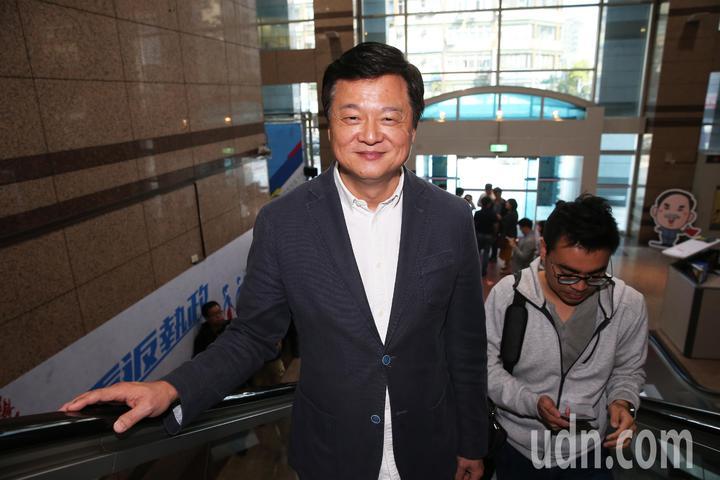 周錫瑋上午出席國民黨中央舉行的新北市長初選協調會。記者徐兆玄/攝影