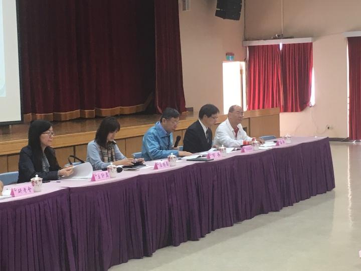 台北市長柯文哲今天出席「士林區里長市政座談會」。記者張世杰/攝影