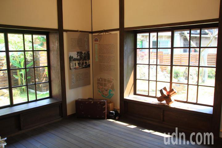所長宿舍具有濃厚的日式風情。記者郭政芬/攝影