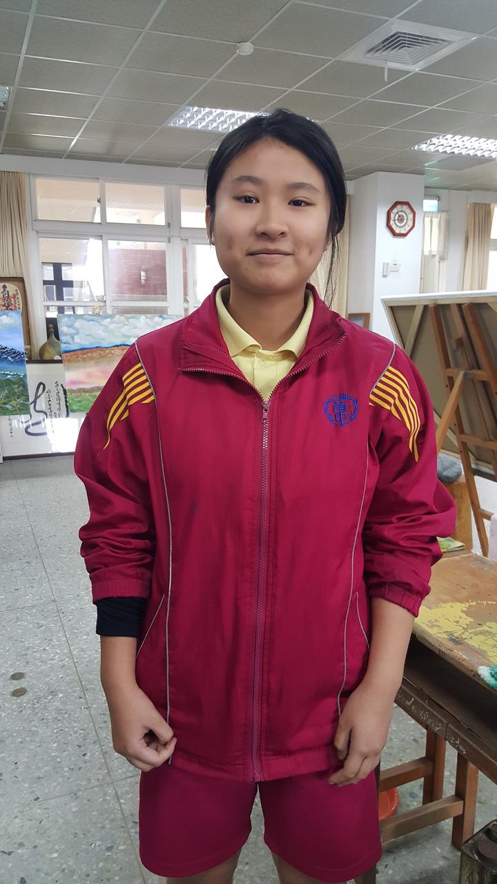 苗栗高中彭彥樺2月下旬就錄取香港教育大學。記者胡蓬生/攝影