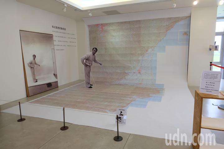 陳定南紀念館即起舉辦陳定南地圖特展,讓外界更認識陳定南的為人和縣政規劃過程。記者張芮瑜/攝影