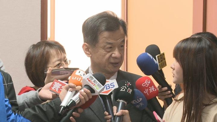 陳水扁參加陳致中造勢晚會,邱太三表示台中中監獄已在蒐集資料、調查,近期會對外說明。記者徐宇威/攝影。