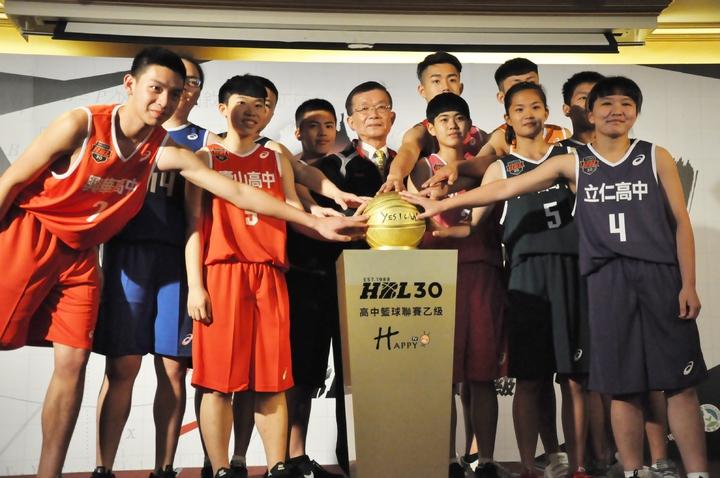HBL乙級決賽16日開戰,今天舉行決賽記者會。  記者曾思儒/攝影