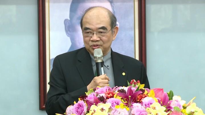 教育部長吳茂昆今天正式走馬上任。記者莊昭文/攝影