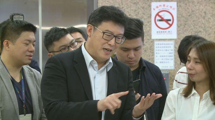 立委姚文智拋出震撼彈,強調若被民進黨提名選台北市長,最後仍「選成第三名」,將永久退出政壇。記者莊昭文/攝影