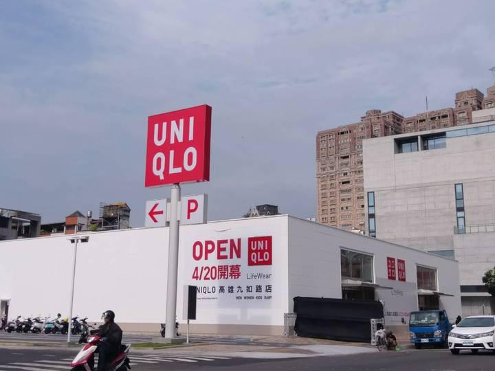 UNIQLO高雄九如路店,是高雄第6間店舖,也是高雄第一家路邊店面,以往都「隱身」在百貨公司內。記者謝梅芬/攝影