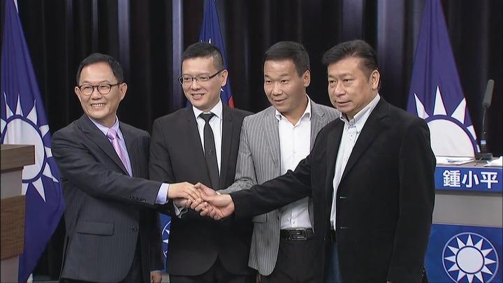 國民黨台北市長初選辯論會登場,4位參選人先禮後兵。攝影/記者林洧旭