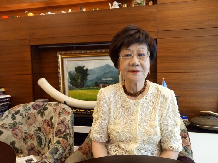前副總統呂秀蓮表態參選台北市長。記者林河名/攝影