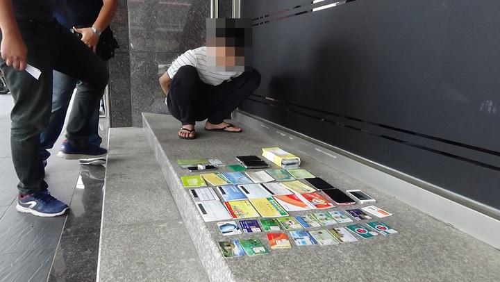 台中市大雅區宋姓車手今年4月間被查獲,宋只領到2千元酬勞,卻花1萬元租車,還得面臨牢獄之災。記者陳宏睿/翻攝