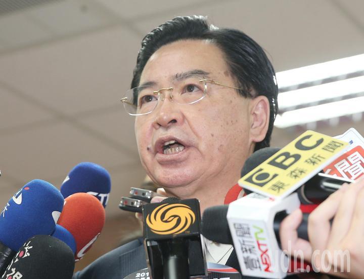 外交部長吳釗燮上午在立法院回應媒體表示,和巴拉圭之間的邦交非常穩固沒有斷交危機。記者陳正興/攝影