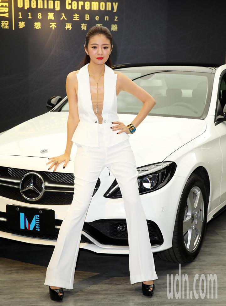 安以軒認為車輛的外觀及耐用度很重要。記者徐兆玄/攝影