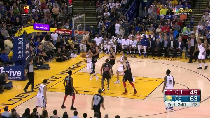 Stephen Curry 2017-18賽季精采好球