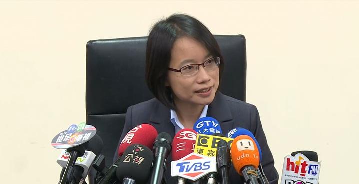 北農總經理吳音寧因一連串風波,今天下午董事會前出面開記者會回應說明。記者陳聖文/攝影