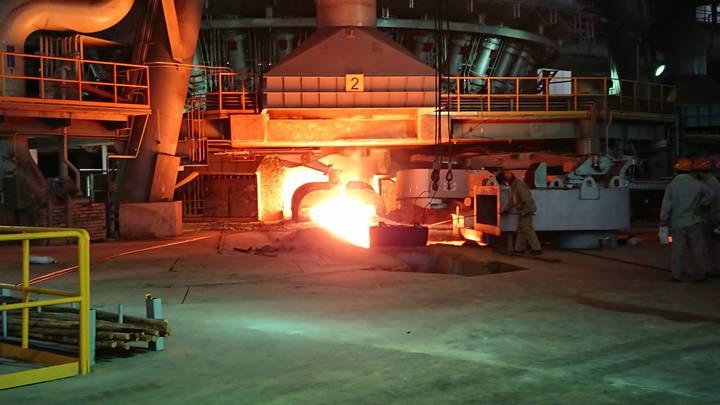 越南台塑河靜鋼廠順利產出第一爐鐵水