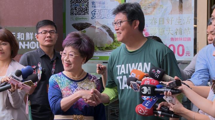 角逐北市市長,民進黨要推出自己的人選,選對會邀請呂秀蓮及姚文智到中央黨部協調。攝影/記者陳煜彬
