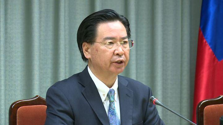 非洲友邦布吉納法索宣布與台斷交,外交部長吳釗燮已向總統口頭請辭。記者陳煜彬/攝影