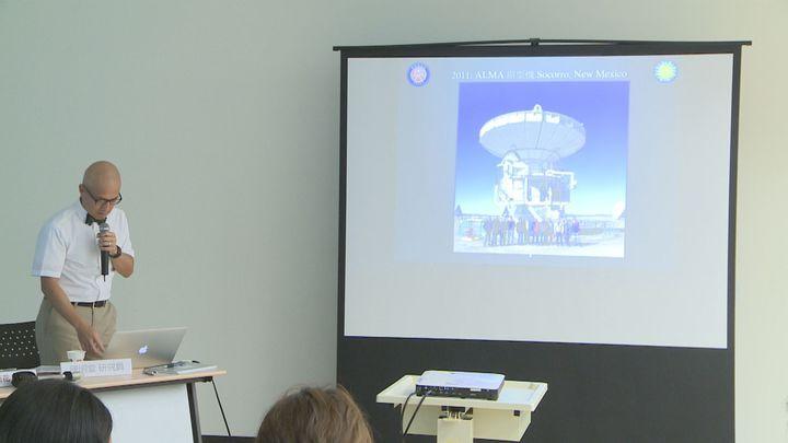 中研院與哈佛大學的天文團隊,克服北極-30度的酷寒環境,成功在格陵蘭架設天文望遠鏡。攝影/記者王彥鈞