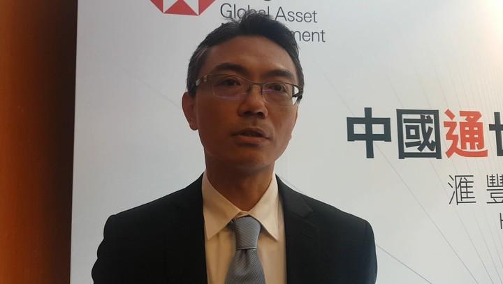 滙豐中華投信副總經理黃軍儒。記者孫中英/攝影