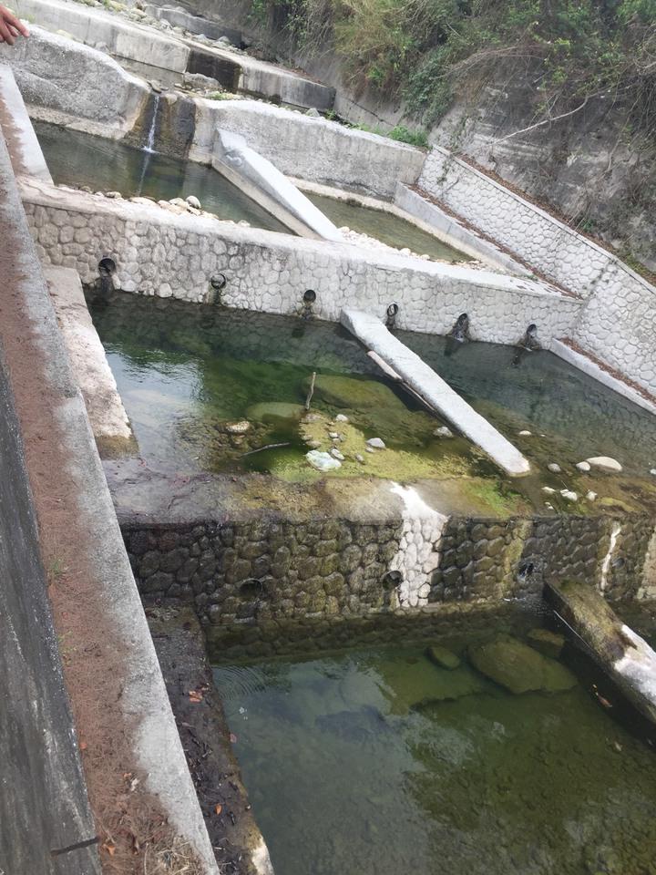 人工構造物阻斷了退路,讓魚蝦都被困住,沒有後路,圖為台東的野溪整治後的情況。記者郭政芬/攝影