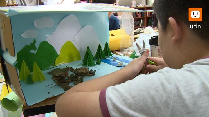 台東唯一的自學團體「晨光學苑」,提供另一種學習管道給偏鄉學童。記者謝育炘/攝影