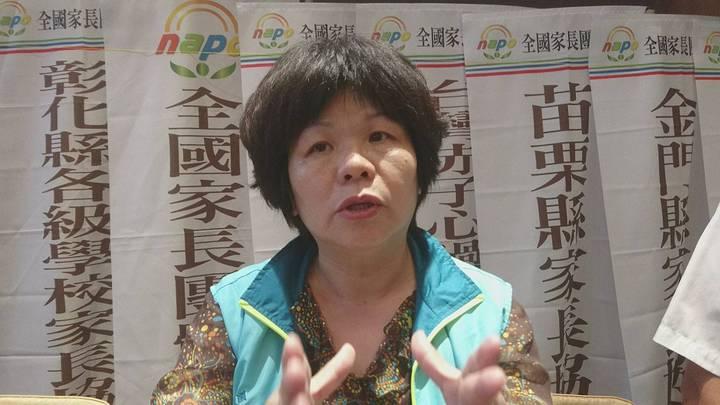 全國家長團體聯盟理事長彭淑燕。記者羅建旺/攝影