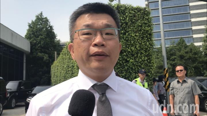 立法院副院長蔡其昌表示,今天來談台中選情 。記者陳秋雲/攝影