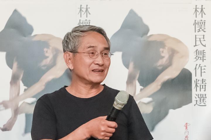 林懷民暢談自己在台灣編舞45年的心路歷程。圖/雲門提供