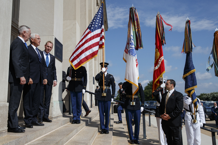 美國副總統潘斯9日赴五角大廈,宣布川普政府欲讓美國太空軍於2020年成軍。如果成真,這是美國繼美國空軍1947年成軍後,再度創設新的軍種。美聯