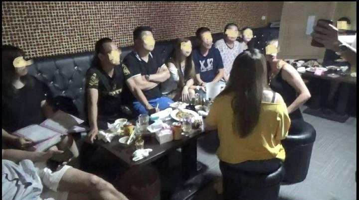 台北市萬華警分局偵破酒店強迫未成年少女陪酒案。記者廖炳棋/翻攝