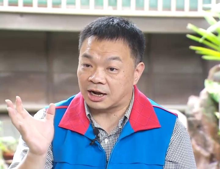 國民黨台南市長參選人高思博呼籲對手陣營選舉不要扯上家人。攝影/記者石偉民