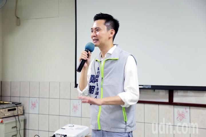 鄭朝方。記者郭宣彣/攝影