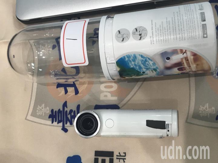 王嫌涉嫌在廁所裝攝影機偷拍女性如廁。記者蕭雅娟/攝影