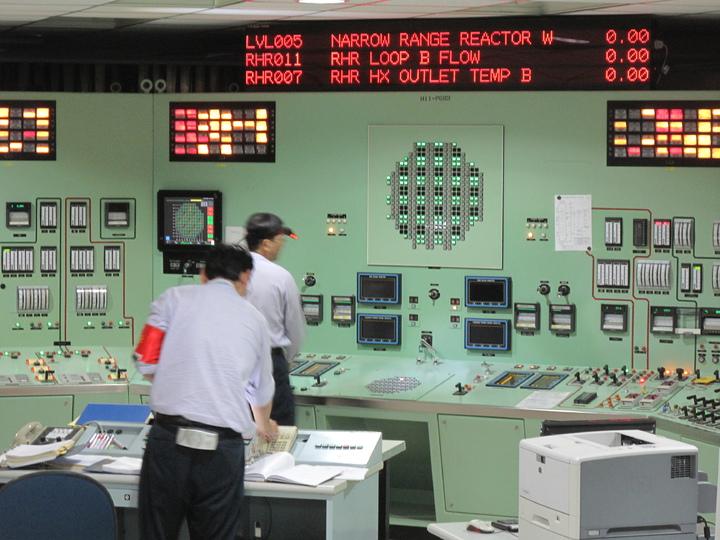 原能會今天舉辦核安24號演習。記者林良齊/攝影