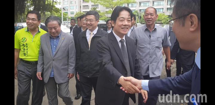 行政院長賴清德上午南下台南。記者修瑞瑩/攝影