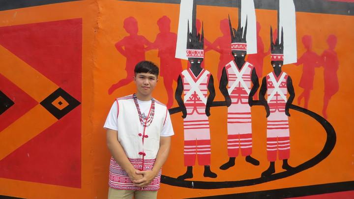 中部平埔族群青年聯盟執行長王商益,母親是後龍鎮道卡斯族人,他串連年輕平埔族人,為傳統平埔族文化努力。記者范榮達/攝影