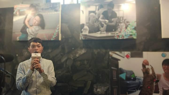 目光陳楚睿攝影個展9月22日–9月30日於華山文創園區舉辦,攝影師陳楚睿希望以目光為題,把這份能量傳達給仍在谷底的人。記者林良齊/攝影