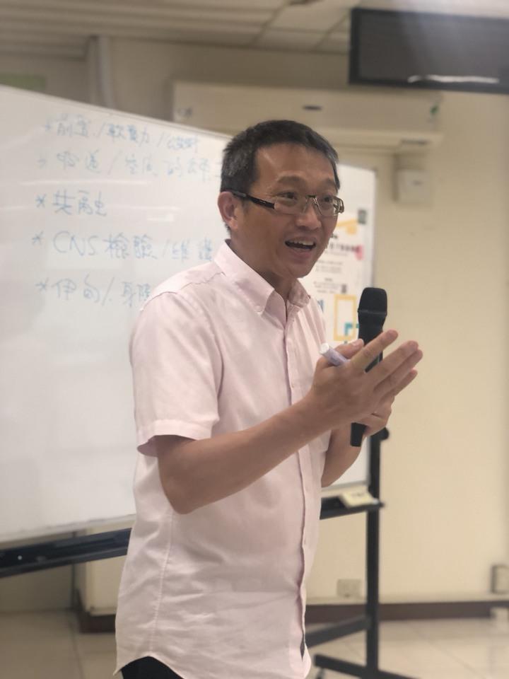 嘉義市環境景觀總顧問林慶怡也到場交流。記者王慧瑛/攝影