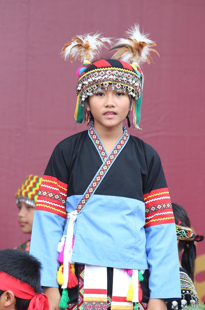 原住民族教育成果展上午舉行,教育部長葉俊榮、原民會主委夷將‧拔路兒、郭婞淳等人出席。記者曾吉松/攝影