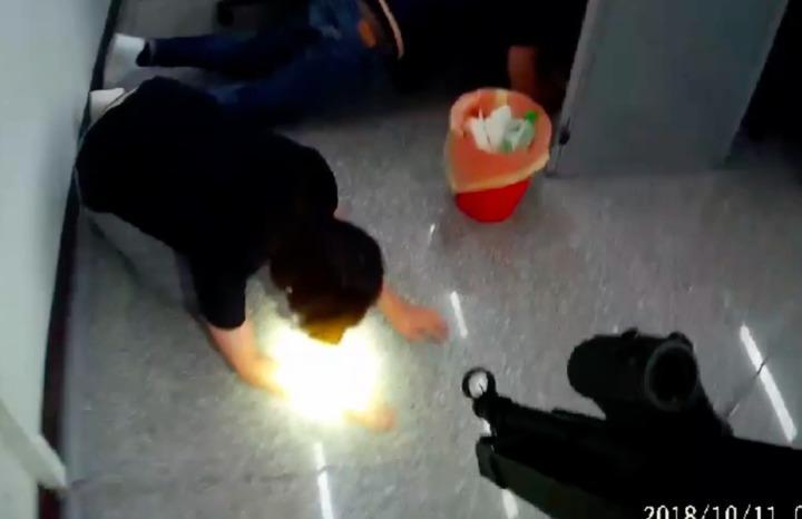 警方攻破台中的詐欺水房。記者李承穎/翻攝