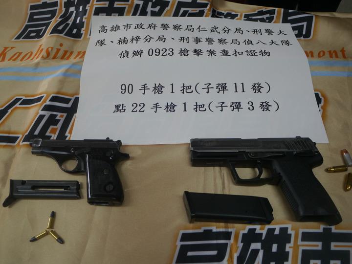茶葉行犯罪集團持槍犯案,涉嫌攜槍強迫推銷茶葉。記者徐白櫻/攝影