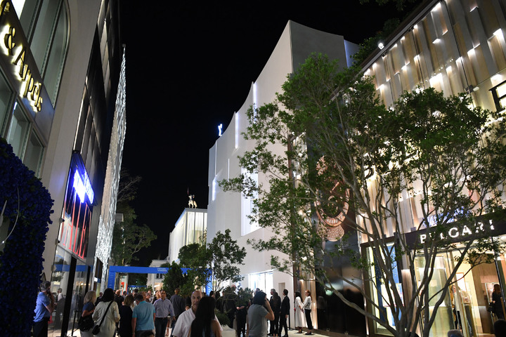 2018年邁阿密鐘表與奇蹟表展於邁阿密城中區的設計專區展開。圖/FHH提供