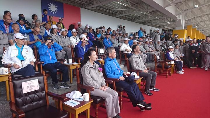 王家成員也多人出席運動會。 記者/黃淑惠攝影